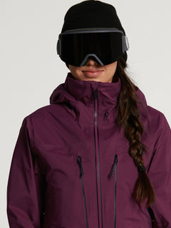 Womens VS Stretch GORE-TEX Jacket - Vibrant Purple (H0652103_VIB) [2]