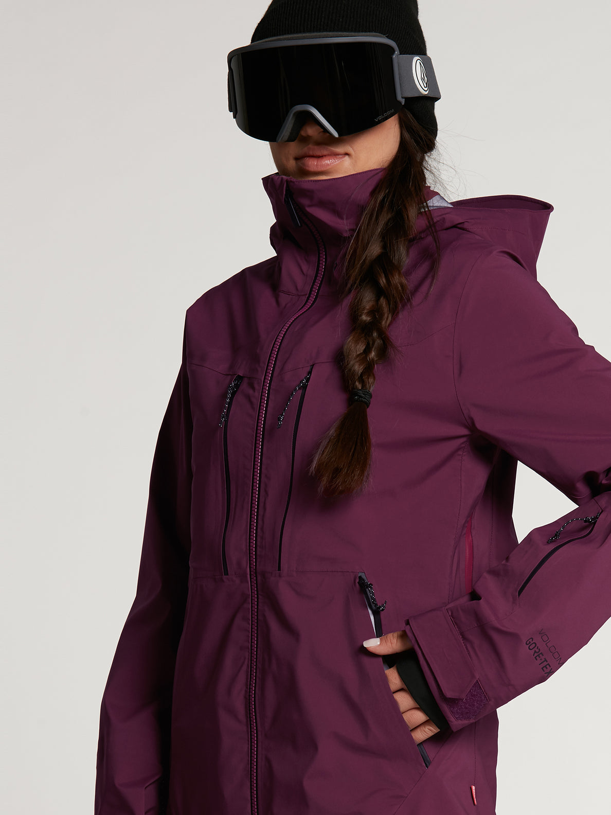 Womens VS Stretch GORE-TEX Jacket - Vibrant Purple (H0652103_VIB) [4]