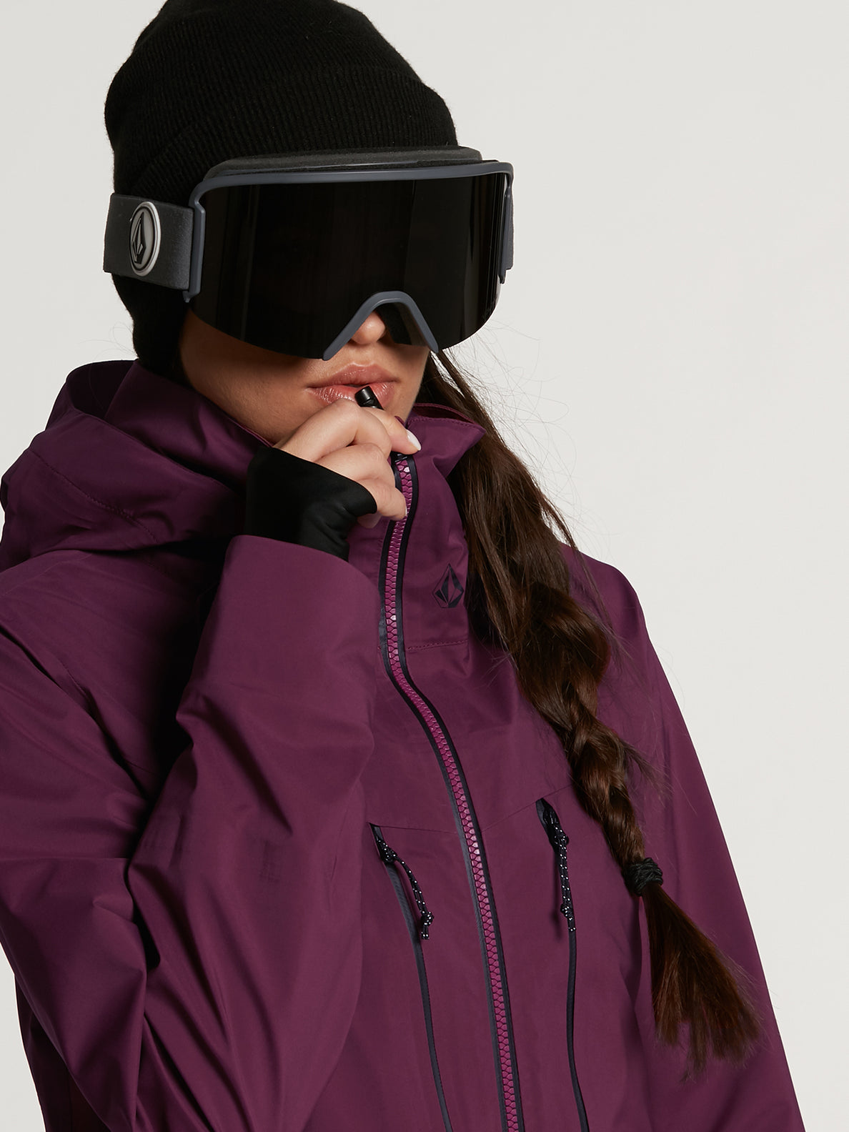 Womens VS Stretch GORE-TEX Jacket - Vibrant Purple (H0652103_VIB) [6]