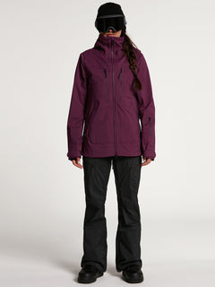 Womens VS Stretch GORE-TEX Jacket - Vibrant Purple (H0652103_VIB) [F]