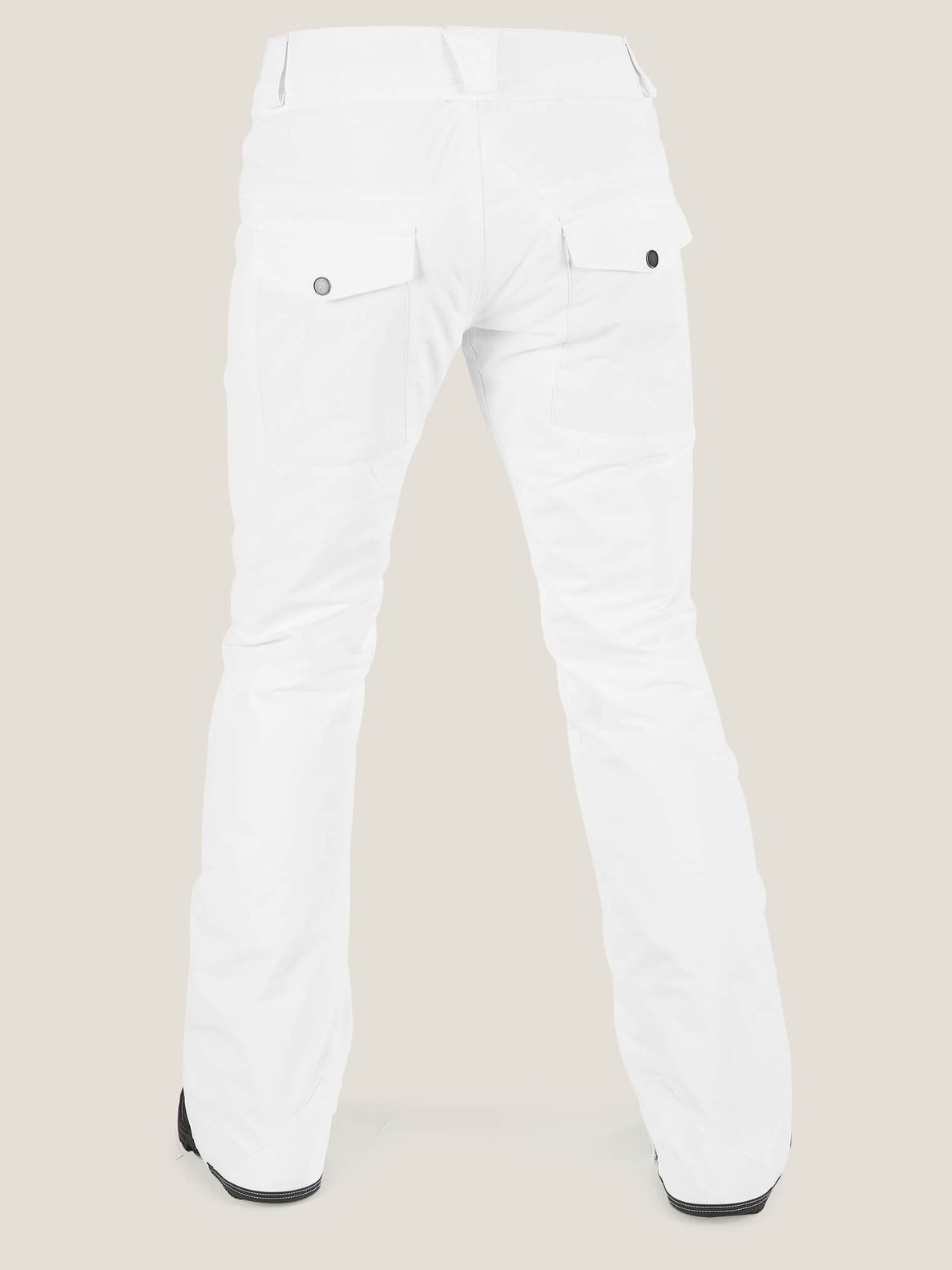 Knox Insulated Gore-tex® Pant In White, Back View