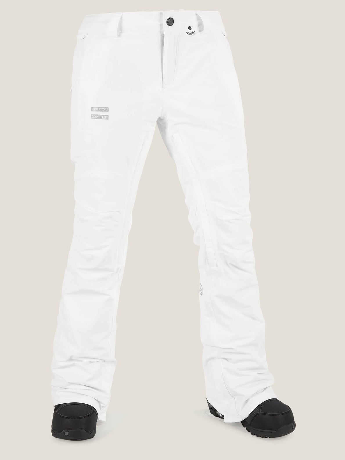 Knox Insulated Gore-tex® Pant In White, Front View