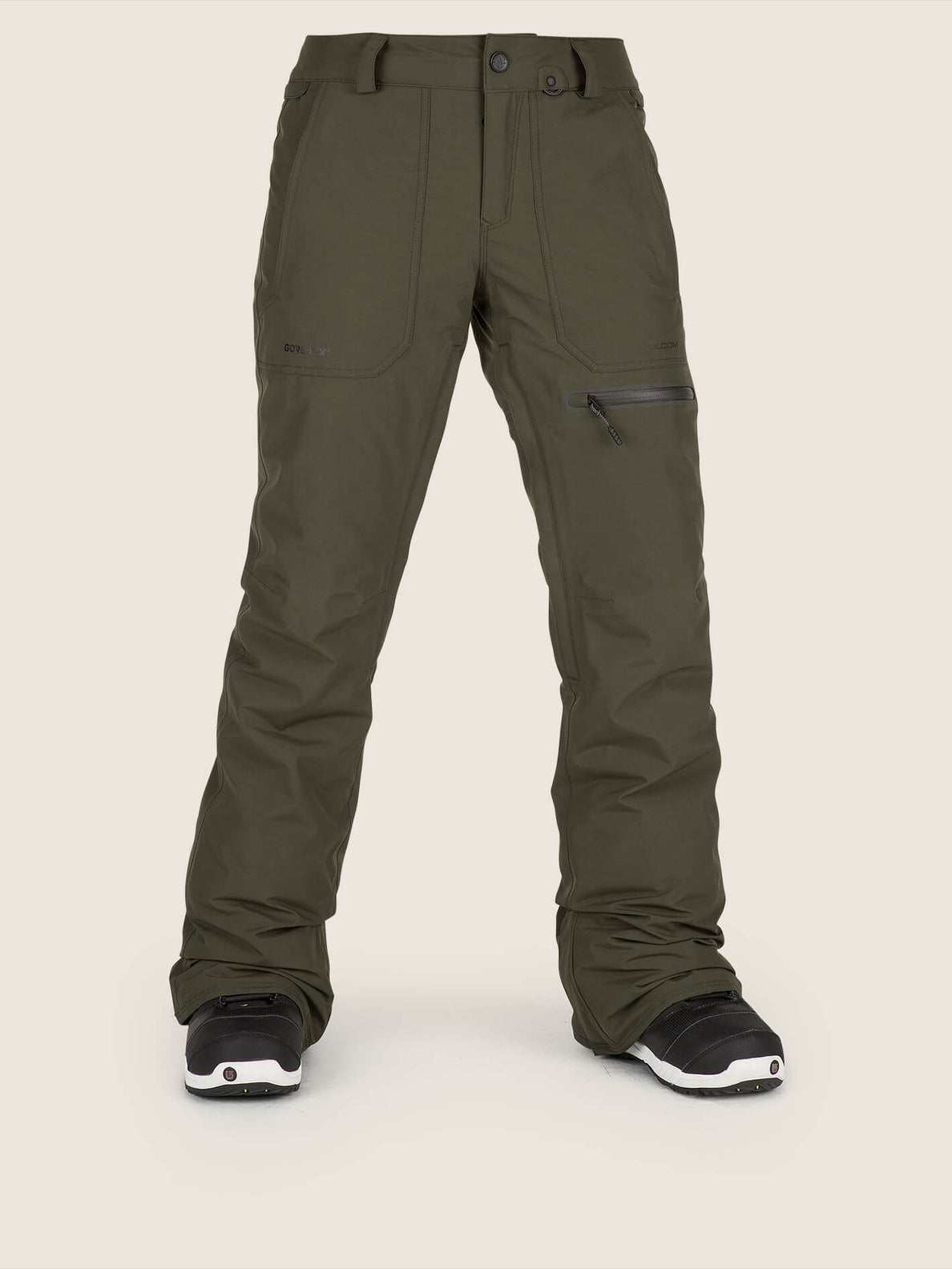 Knox Insulated Gore-tex Pant In Snow Forest, Front View