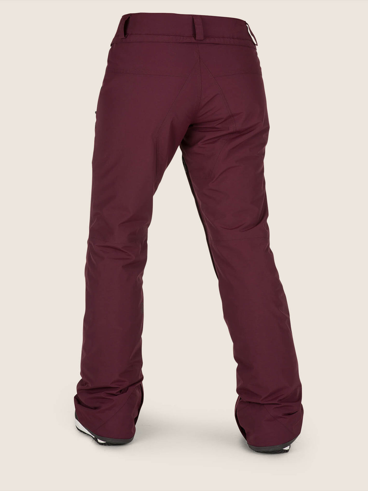 Knox Insulated Gore-tex Pant In Merlot, Back View