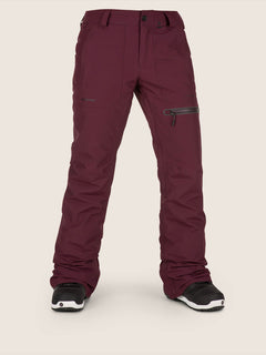 Knox Insulated Gore-tex Pant In Merlot, Front View