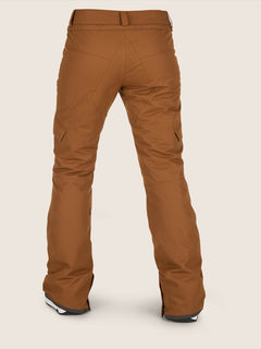Bridger Insulated Pant In Copper, Back View