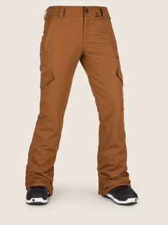 Bridger Insulated Pant In Copper, Front View