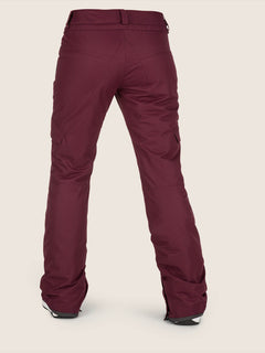 Bridger Insulated Pant In Merlot, Back View