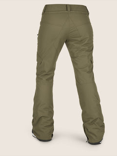 Bridger Insulated Pant In Snow Military, Back View