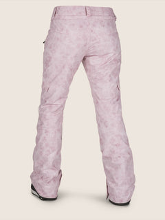 Bridger Insulated Pant In Pink, Back View