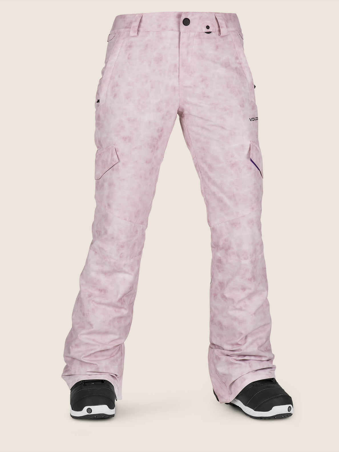 Bridger Insulated Pant In Pink, Front View