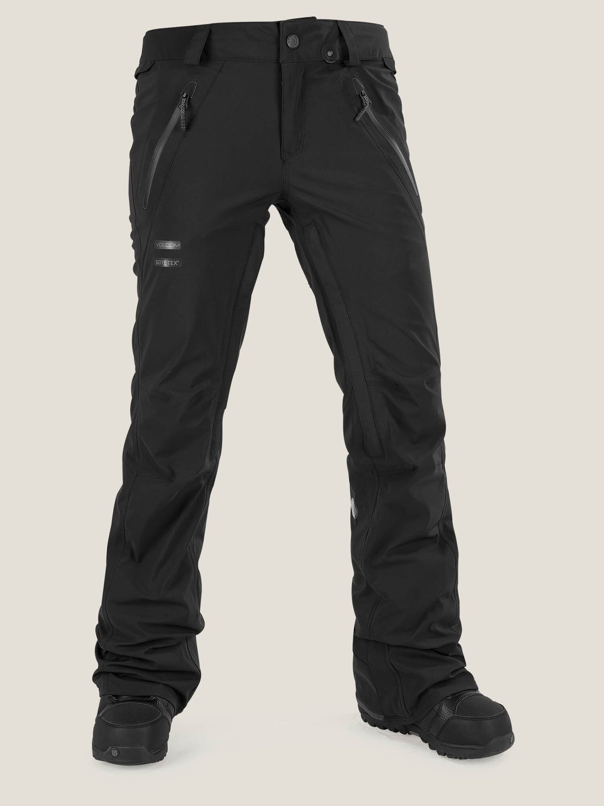 Pvn Gore-tex® Stretch Pant In Black, Front View