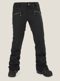 Hexie Pant In Black, Front View