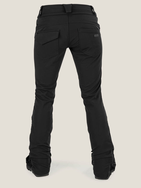 Battle Stretch Pant In Black, Back View