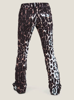 Battle Stretch Pant In Cheetah, Back View