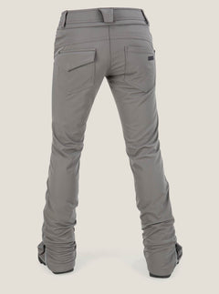 Battle Stretch Pant In Charcoal Grey, Back View