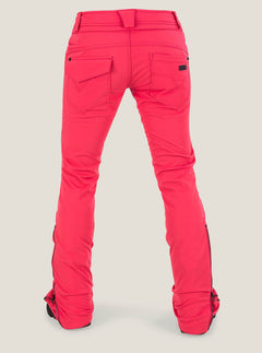 Battle Stretch Pant In Bright Rose, Back View