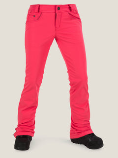 Battle Stretch Pant In Bright Rose, Front View