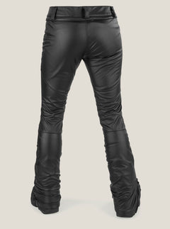Battle F. Leather Pant In Black, Back View
