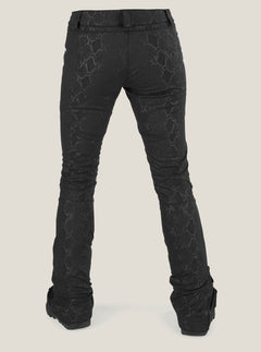 Battle F. Leather Pant In Snake, Back View