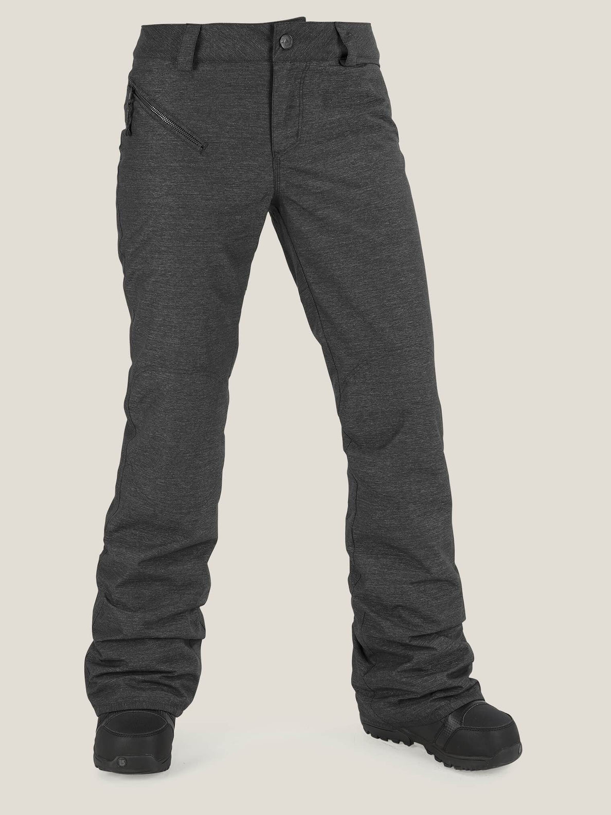 Pinto Pant In Black, Front View
