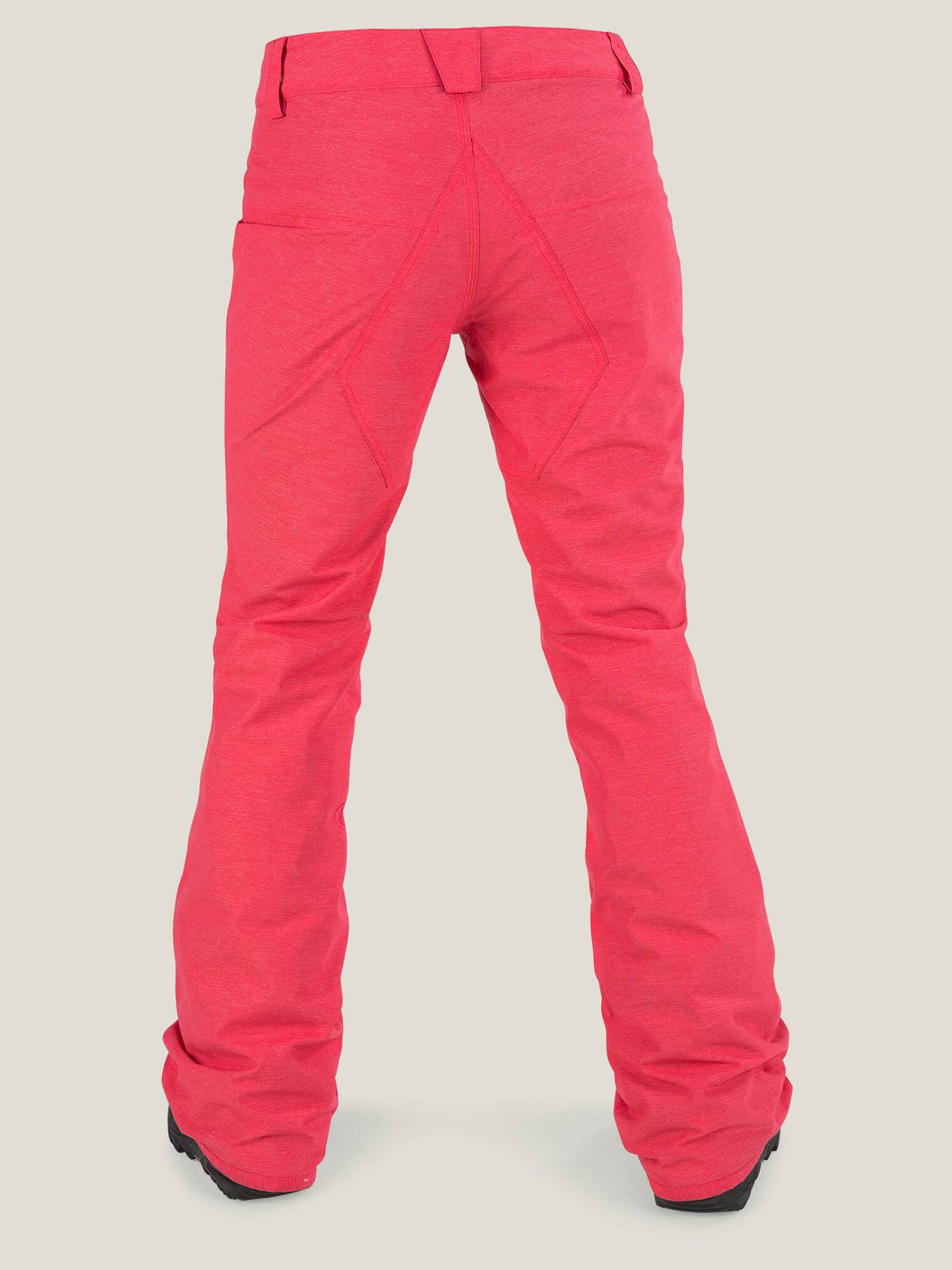 Pinto Pant In Bright Rose, Back View