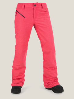 Pinto Pant In Bright Rose, Front View