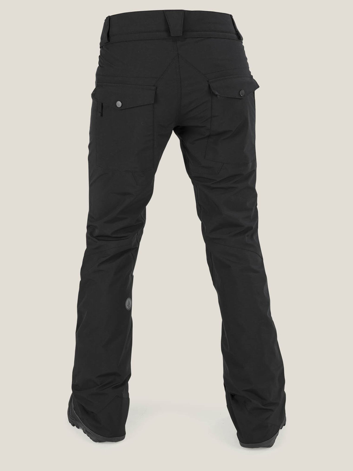 Knox Gore-tex® Pant In Black, Back View