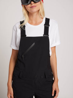 Elm Gore-tex Bib Overall In Black, Alternate View