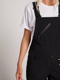 Elm Gore-tex Bib Overall In Black, Second Alternate View