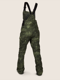 Elm Gore-tex Bib Overall In Camouflage, Back View