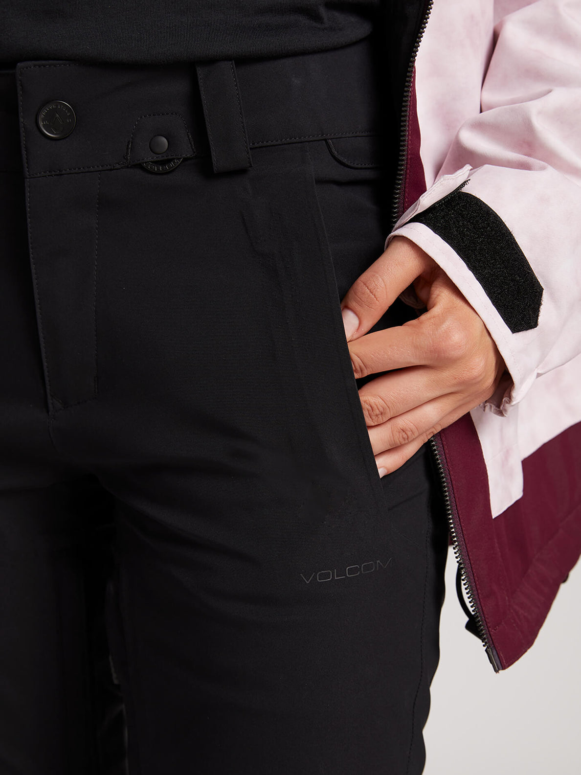 Flor Stretch Gore-tex Pant In Black, Alternate View
