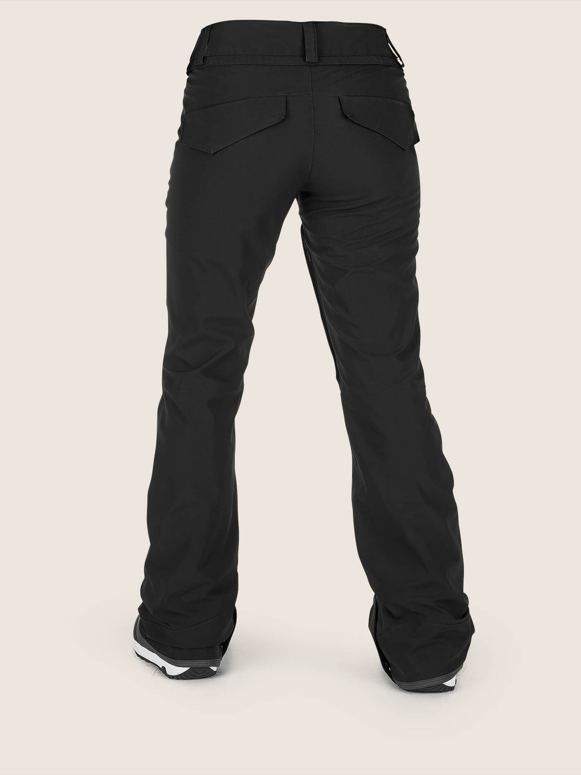 Flor Stretch Gore-tex Pant In Black, Back View