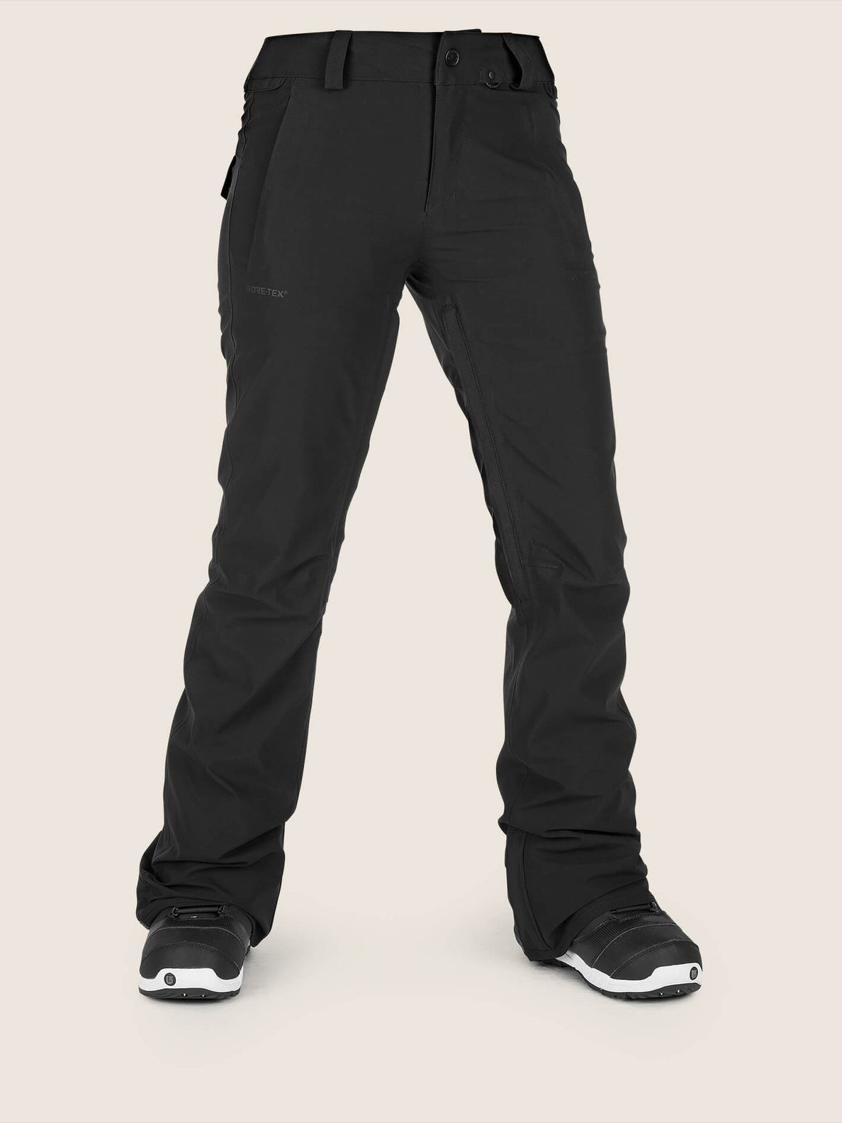 Flor Stretch Gore-tex Pant In Black, Front View