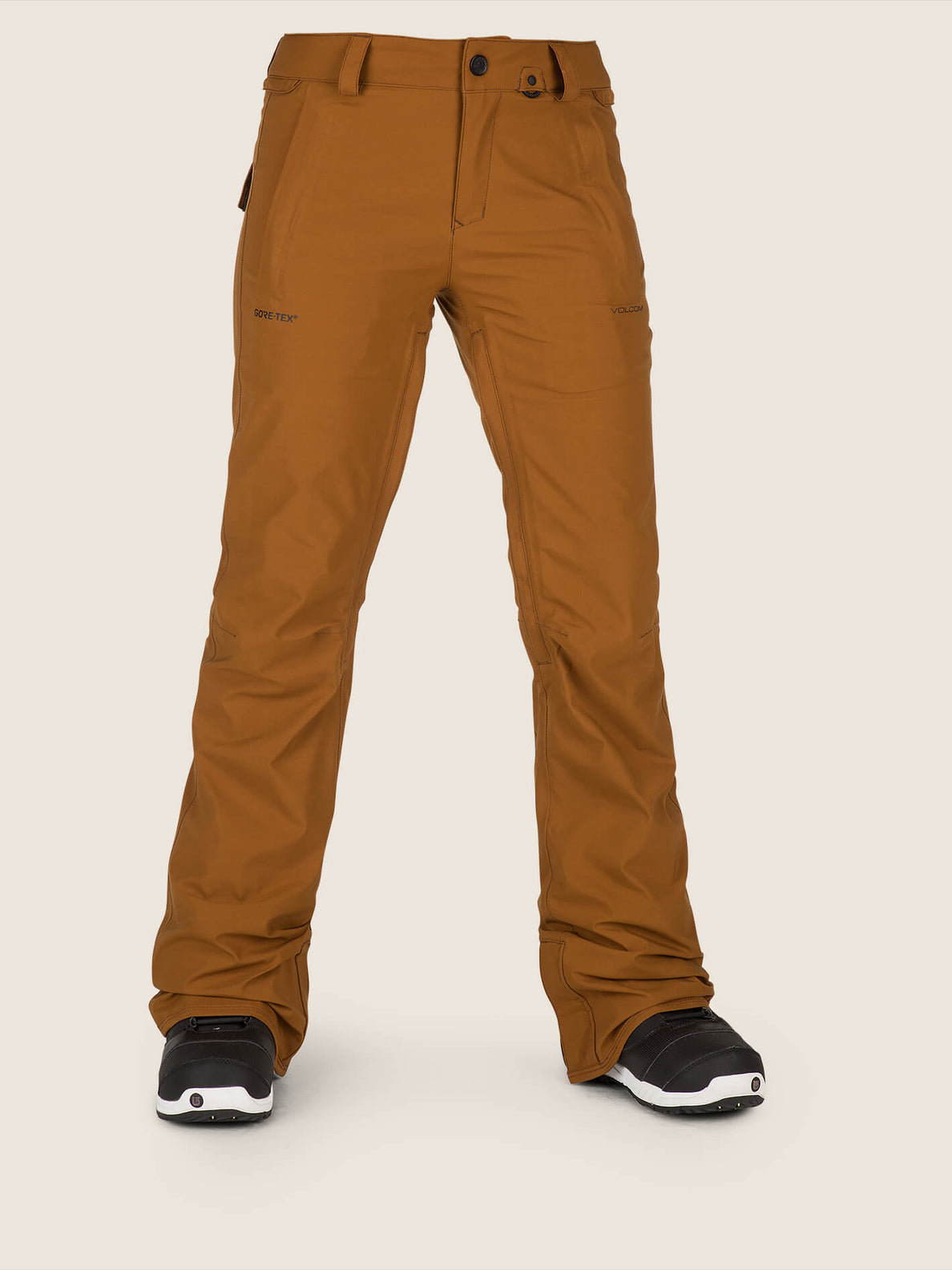 Flor Stretch Gore-tex Pant In Copper, Front View