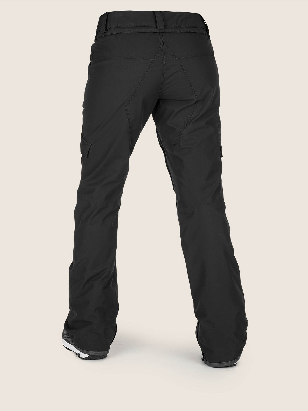 Aston Gore-tex Pant In Black, Back View