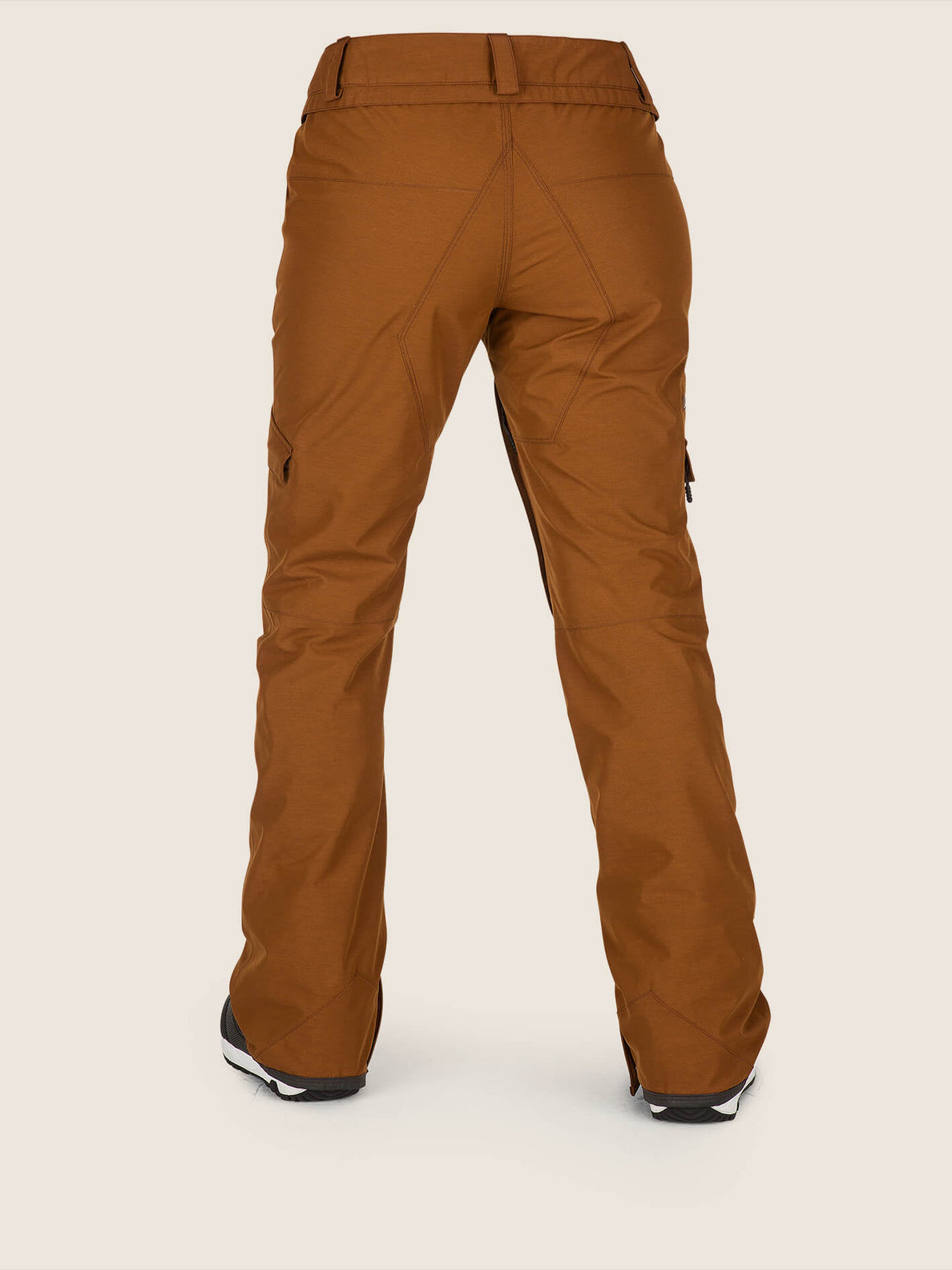 Aston Gore-tex Pant In Copper, Back View