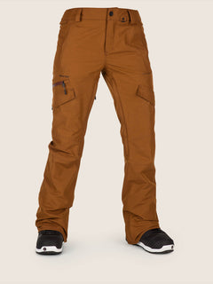 Aston Gore-tex Pant In Copper, Front View