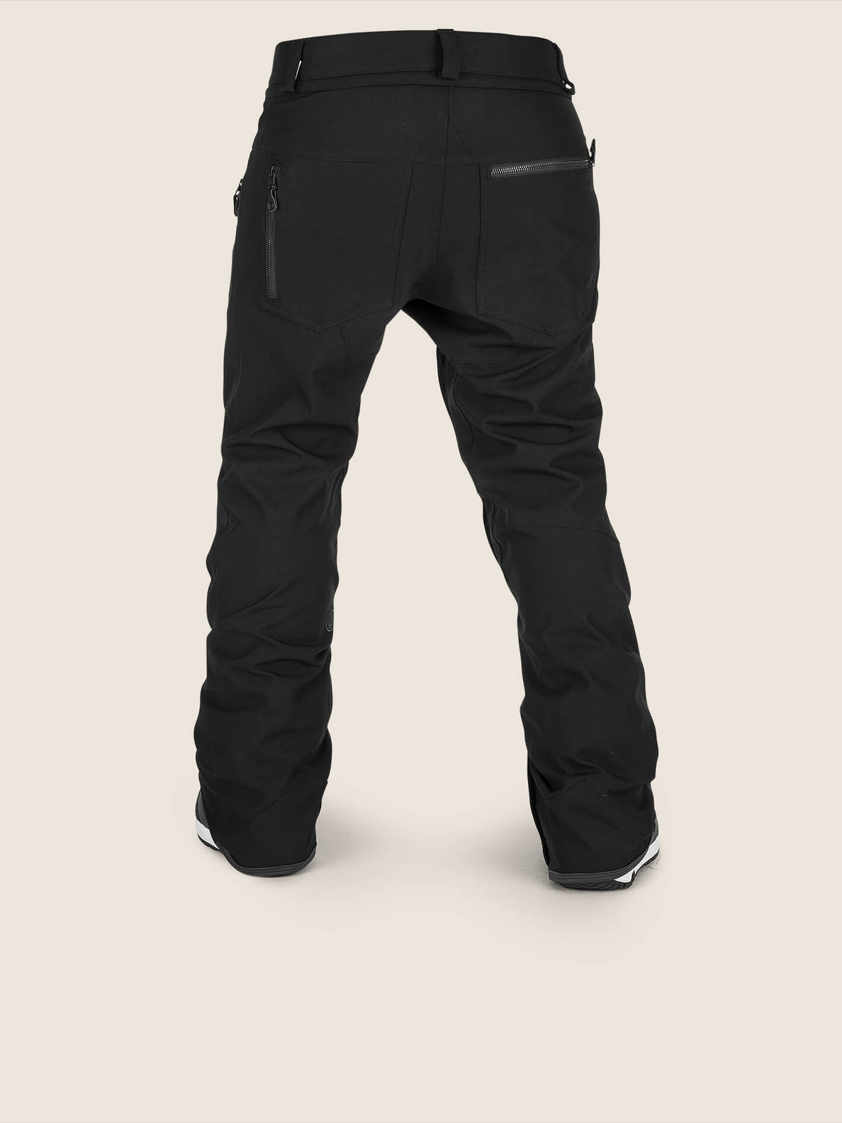 Iron Stretch Pant In Black, Back View