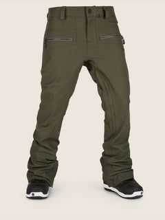 Iron Stretch Pant In Snow Forest, Front View