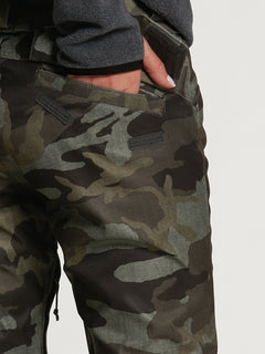Womens Species Stretch Pants - Black Military (H1351905_BML) [07]