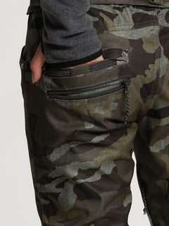 Womens Species Stretch Pants - Black Military (H1351905_BML) [09]