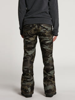 Womens Species Stretch Pants - Black Military (H1351905_BML) [13]