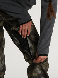 Womens Species Stretch Pants - Black Military (H1351905_BML) [15]