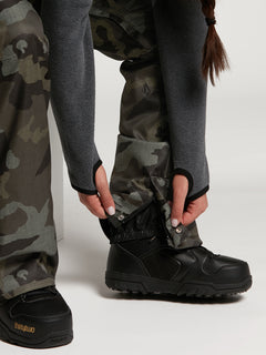 Womens Species Stretch Pants - Black Military (H1351905_BML) [16]