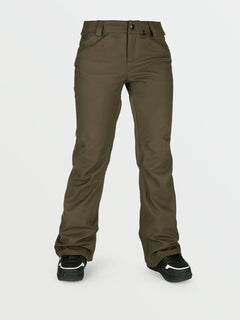Womens Species Stretch Pants - Black Military (H1351905_BML) [F]