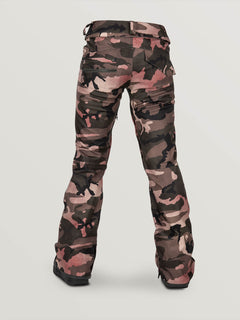 Womens Species Stretch Pants - Faded Army