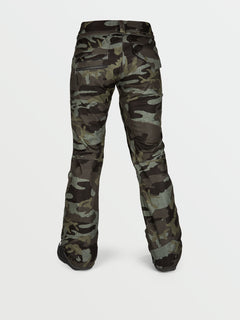 Womens Species Stretch Pants - Service Green (H1351905_SVG) [B]