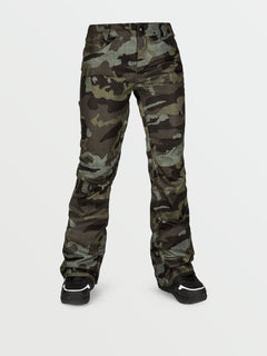 Womens Species Stretch Pants - Service Green (H1351905_SVG) [F]