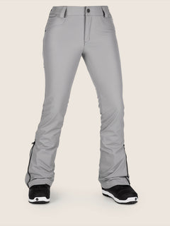 Battle Stretch Pant In Charcoal Grey, Front View